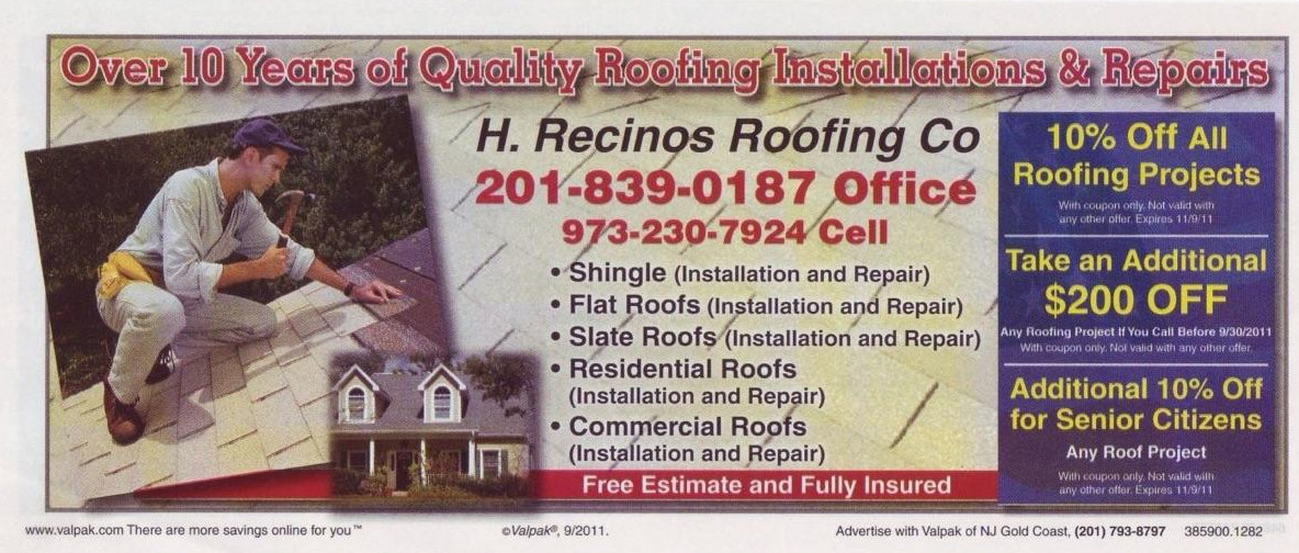 H. Recinos Roofing