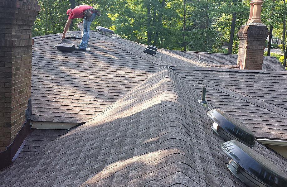 Asphalt Roof Installation, Caldwell, NJ 2015