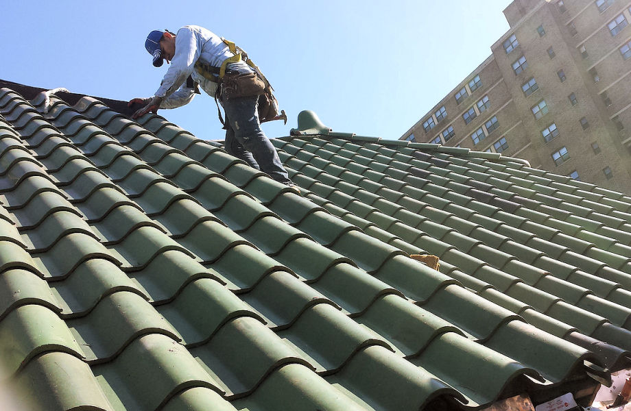Tile Roof Installation,  Newark, NJ 2015